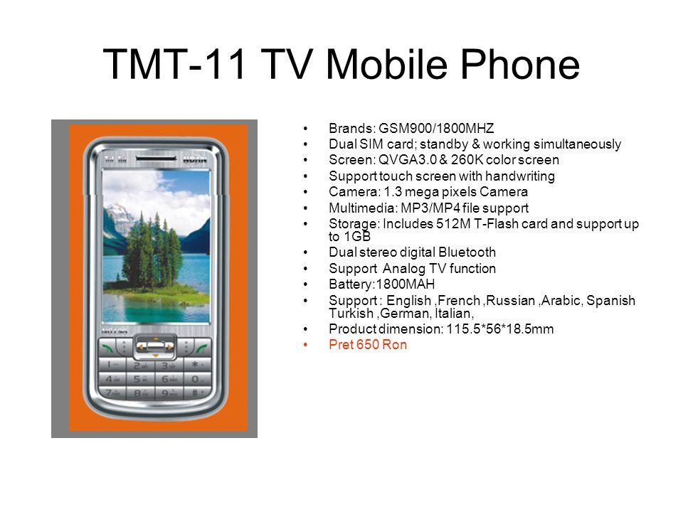 TMT-11 TV Mobile Phone Brands: GSM900/1800MHZ