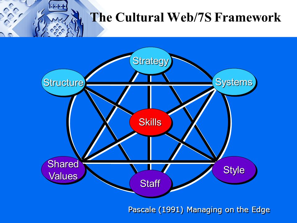 The Cultural Web/7S Framework