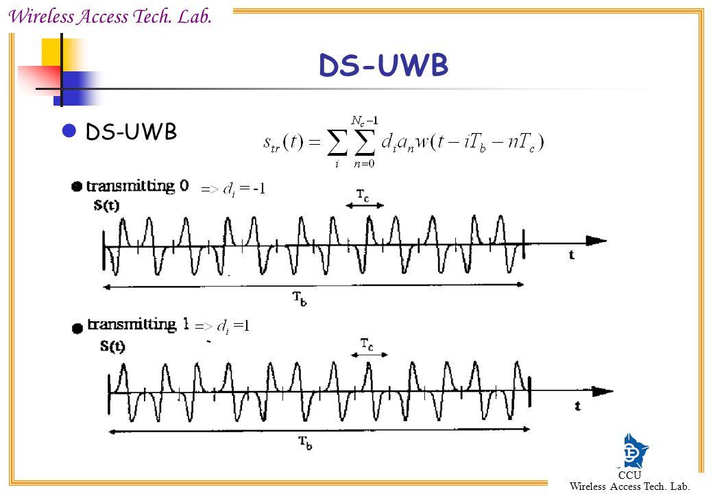 DS-UWB DS-UWB