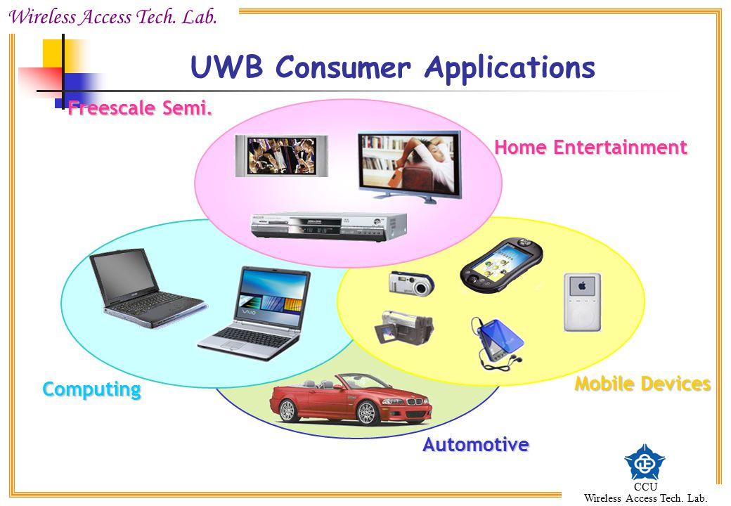 UWB Consumer Applications