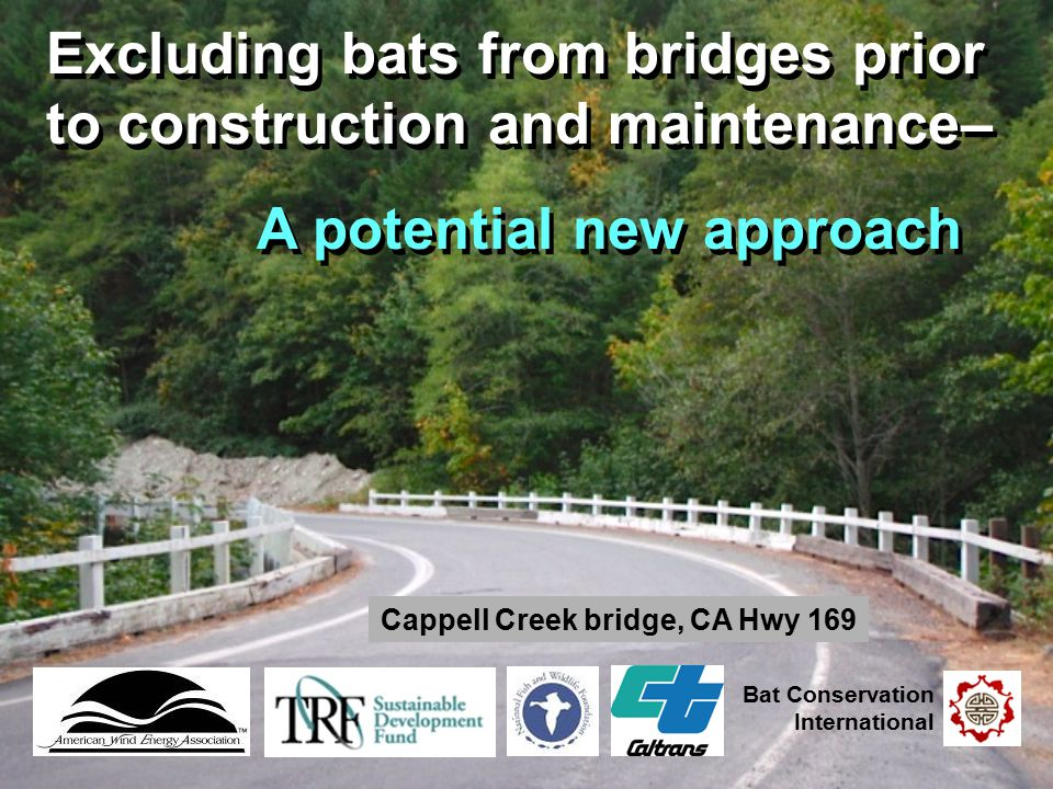 Cappell Creek bridge, CA Hwy 169