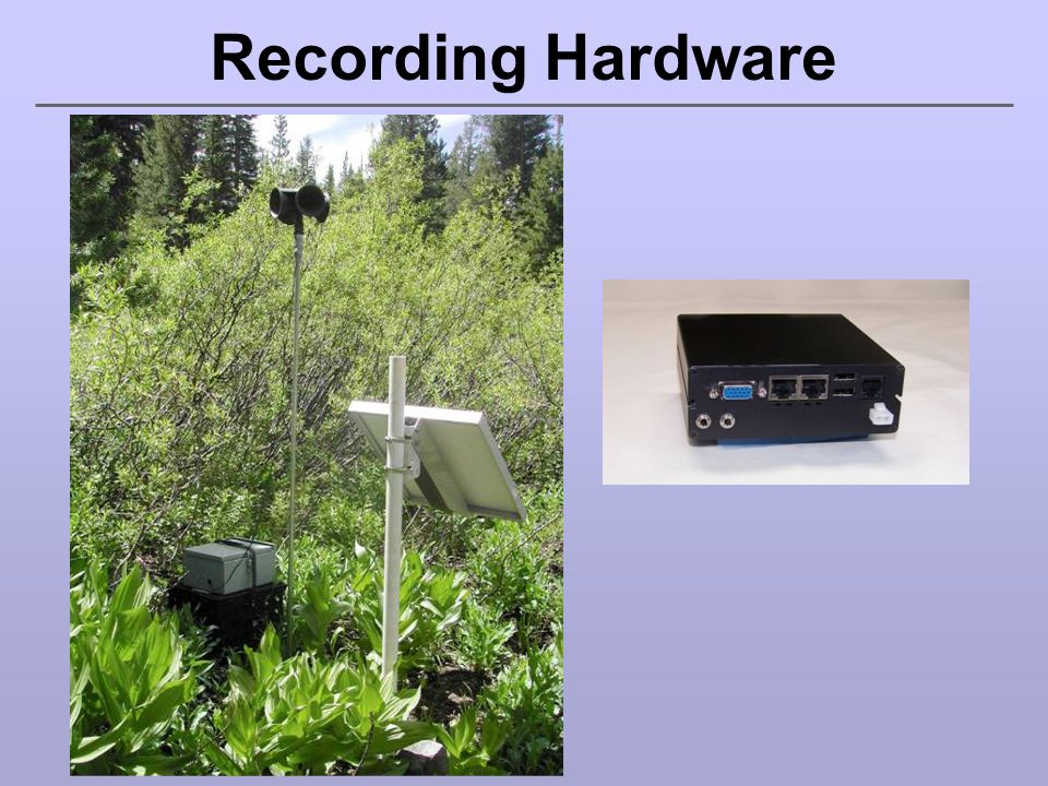 Recording Hardware