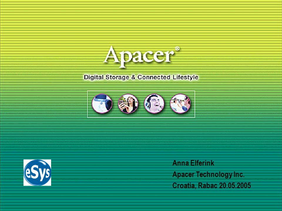 Apacer Company Profile