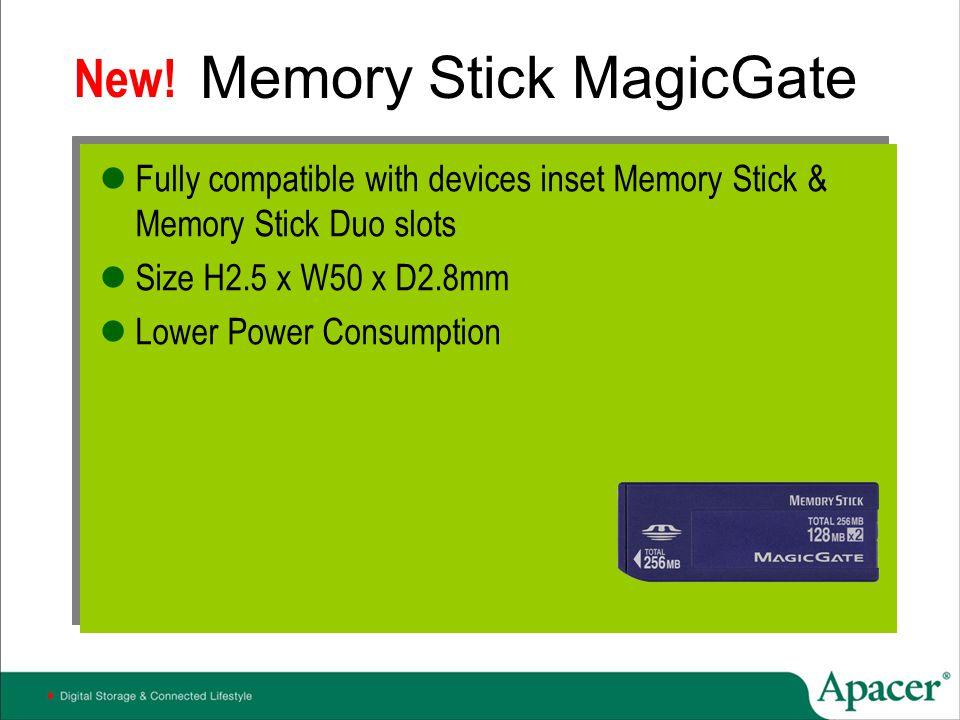 Memory Stick MagicGate