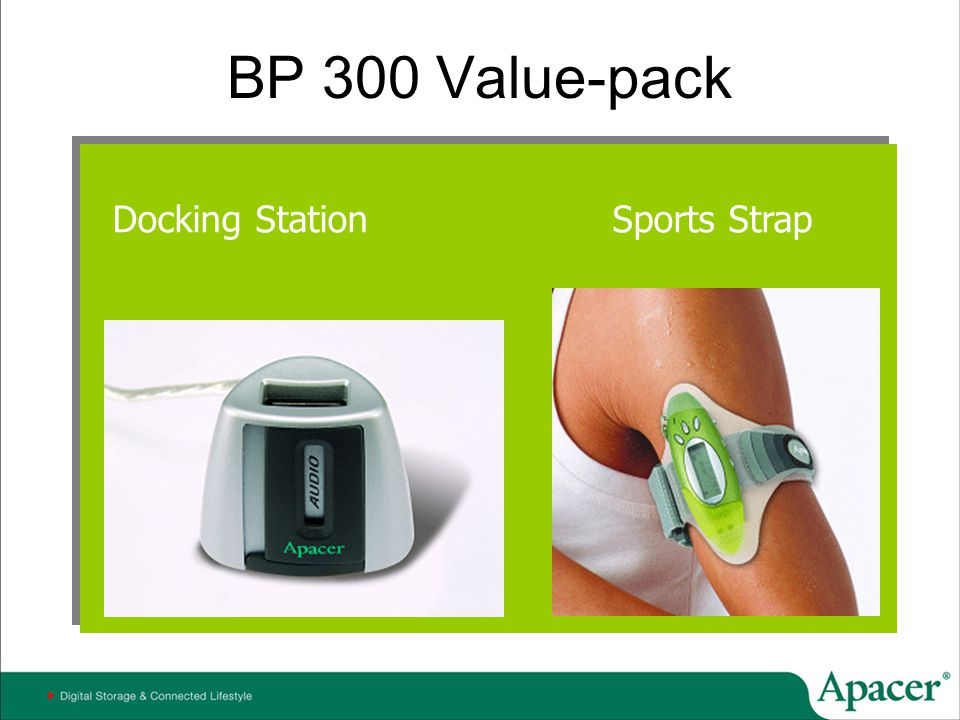 BP 300 Value-pack Docking Station Sports Strap