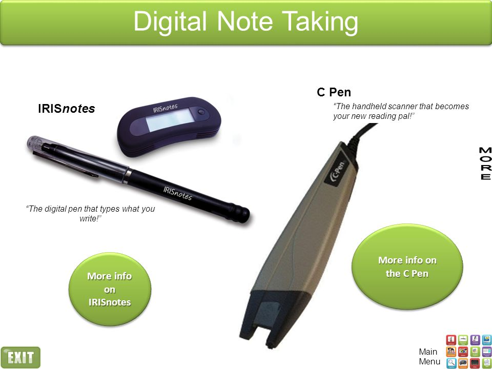 The digital pen that types what you write!
