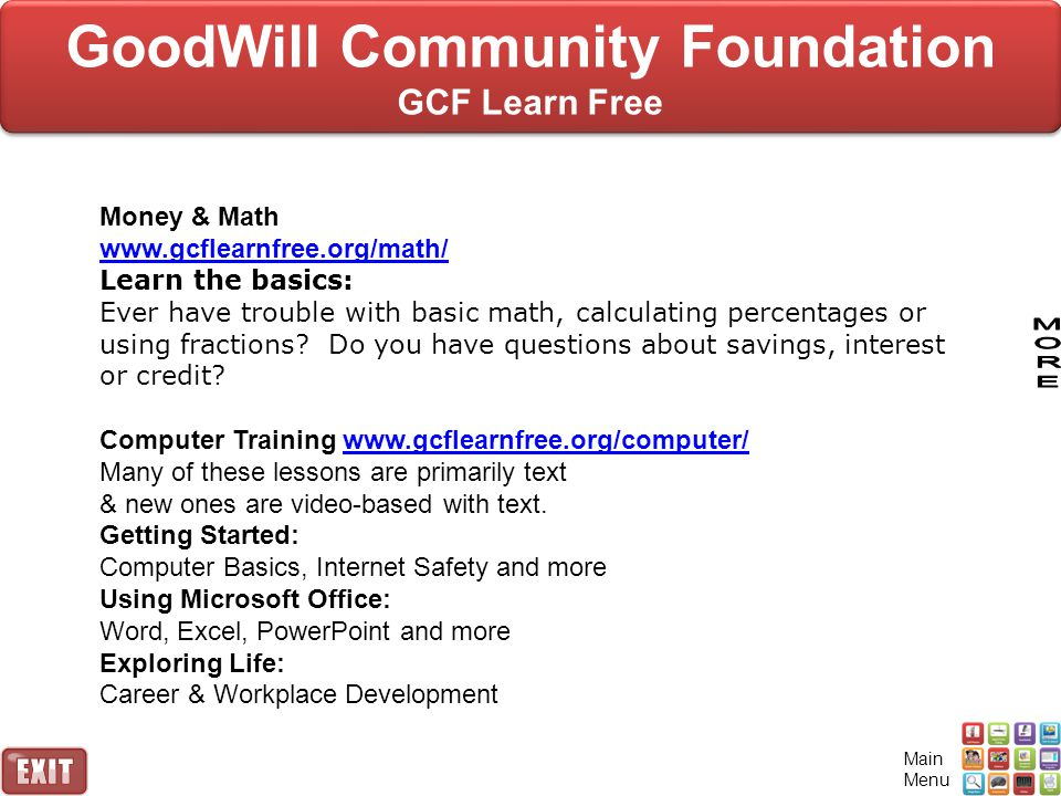 GoodWill Community Foundation