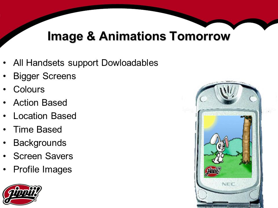 Image & Animations Tomorrow
