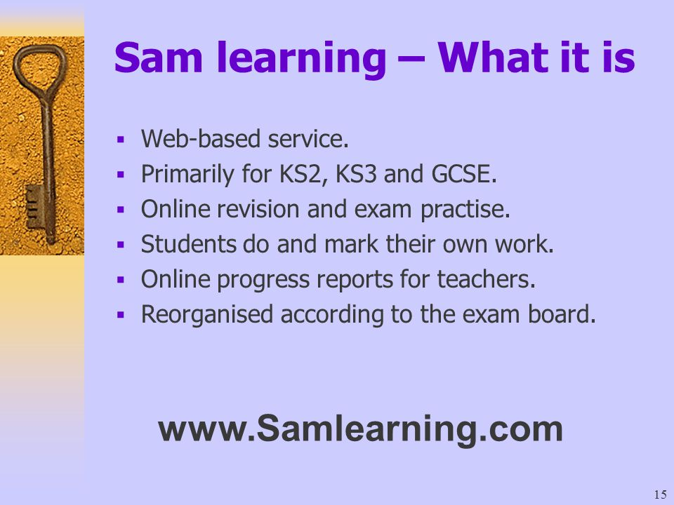 Sam learning – What it is