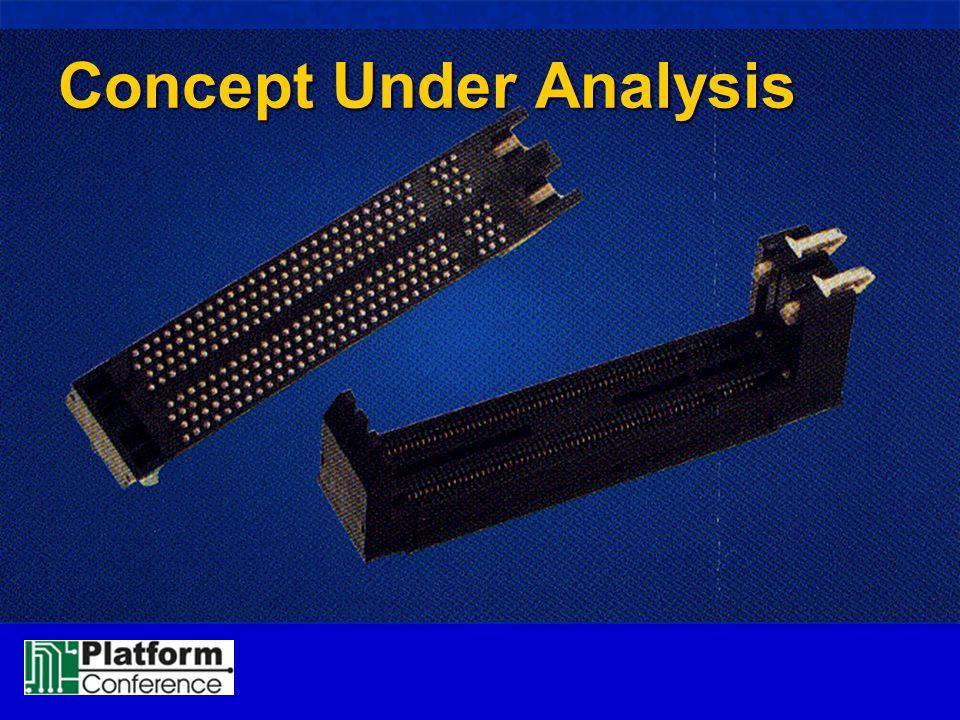 Concept Under Analysis