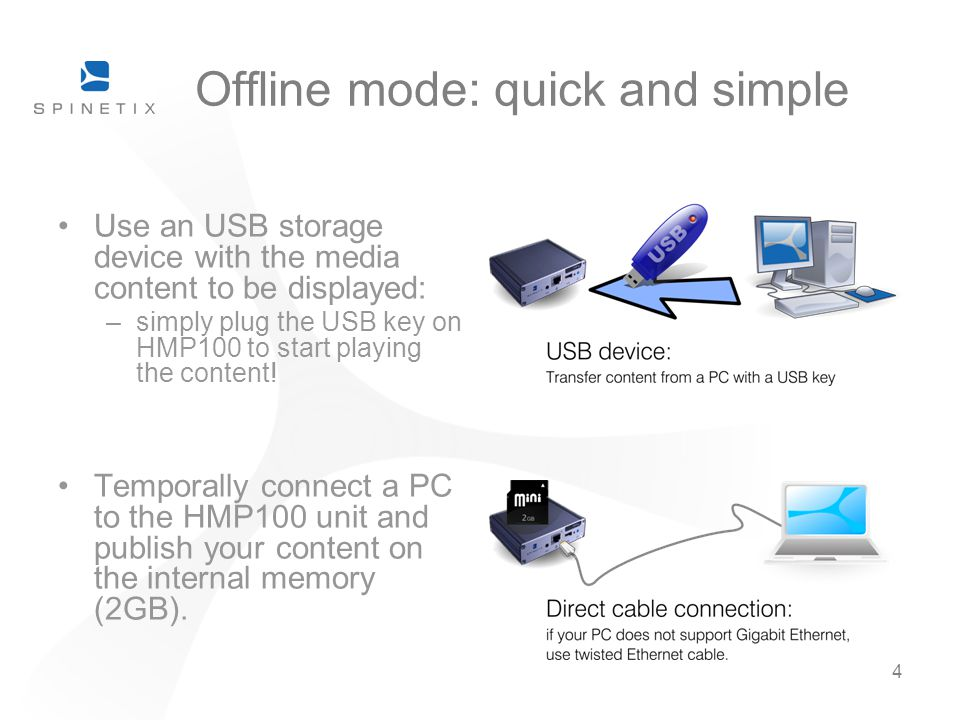Offline mode: quick and simple