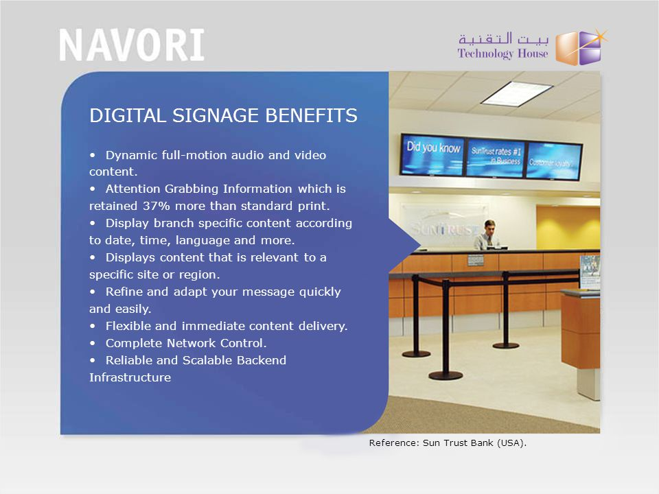 DIGITAL SIGNAGE BENEFITS