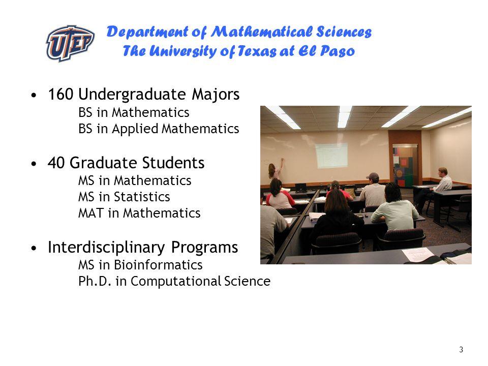 Interdisciplinary Programs