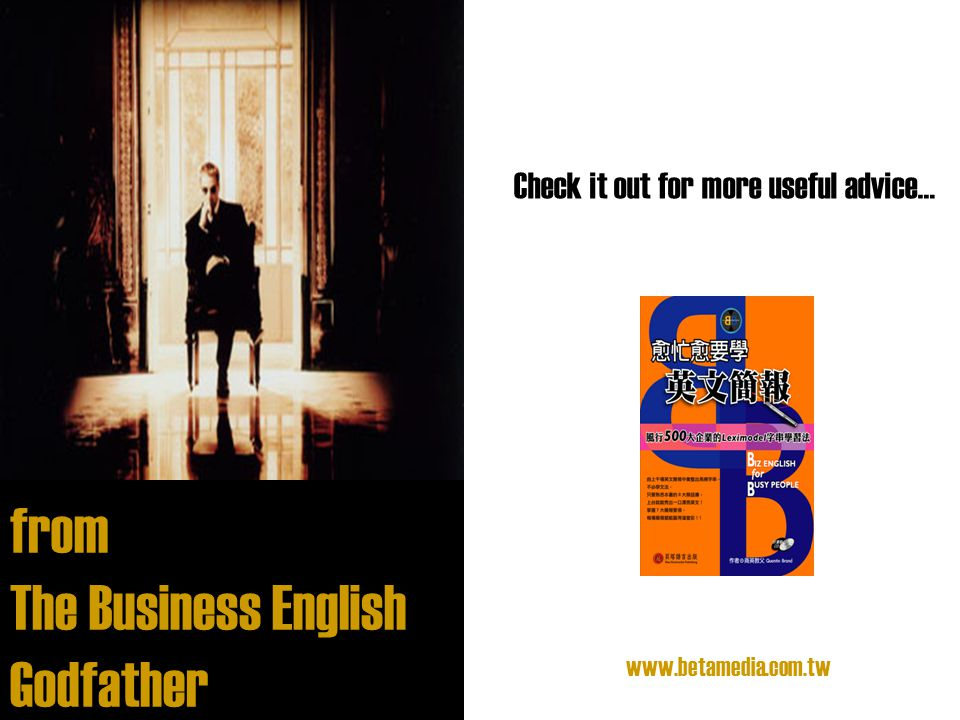 The Business English Godfather