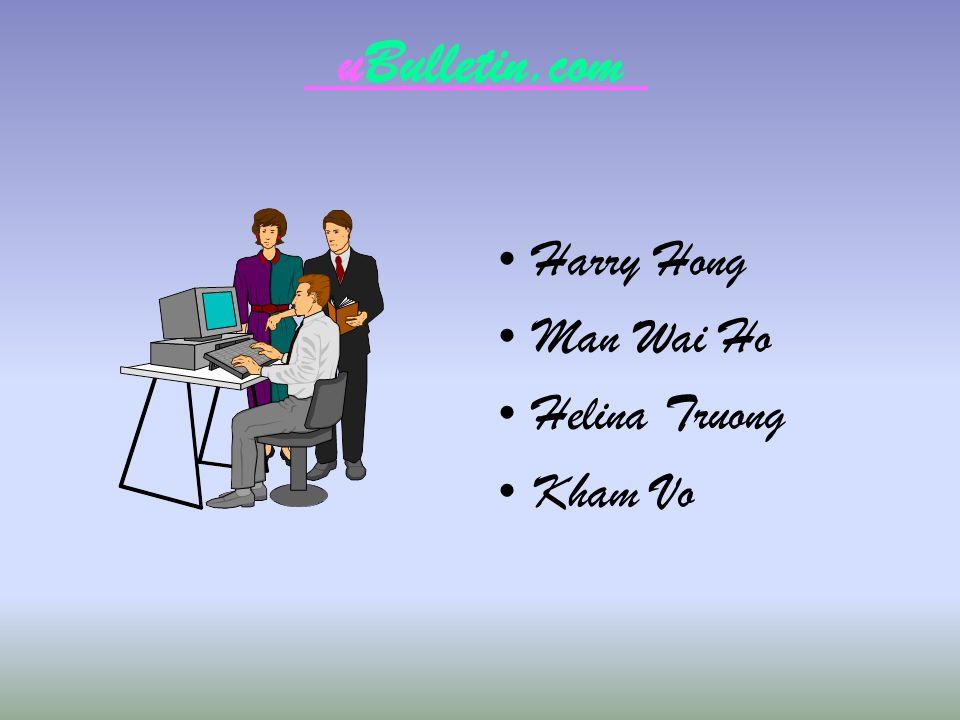 uBulletin.com Harry Hong Man Wai Ho Helina Truong Kham Vo