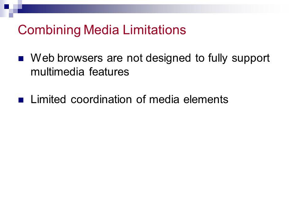 Combining Media Limitations