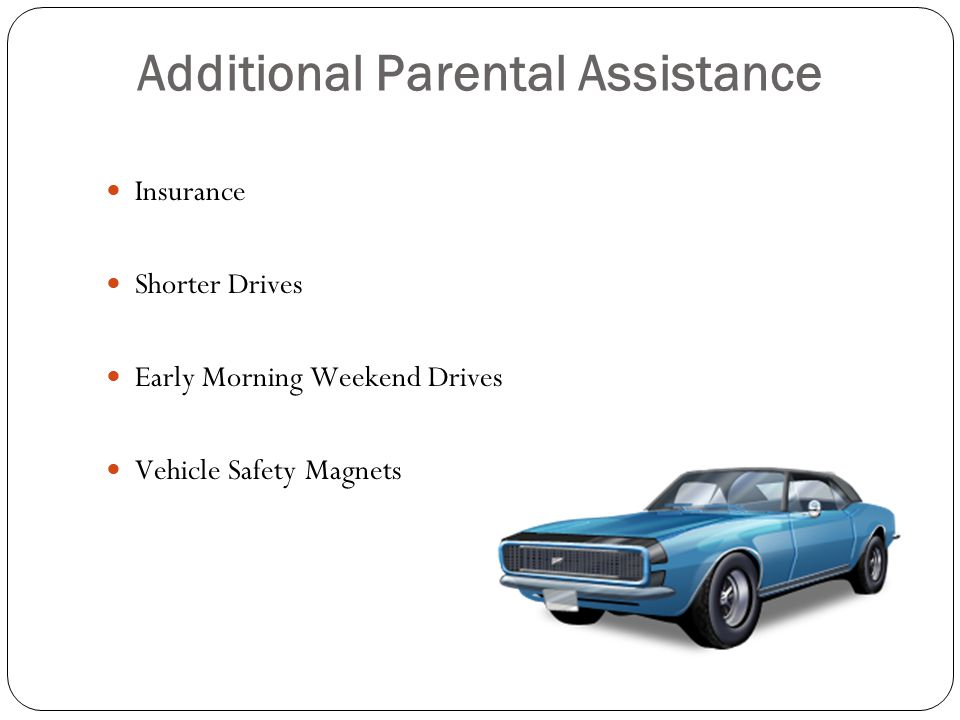 Additional Parental Assistance