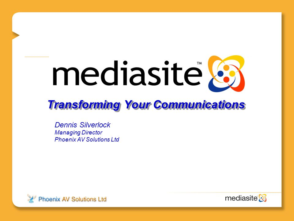 Transforming Your Communications