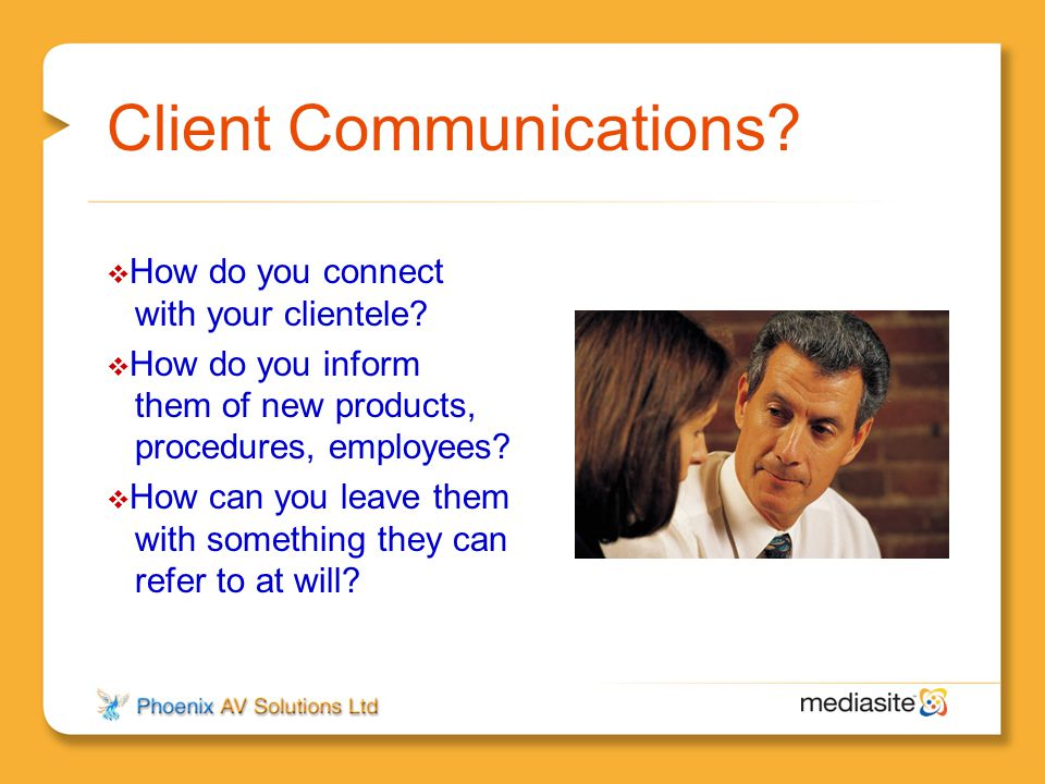 Client Communications