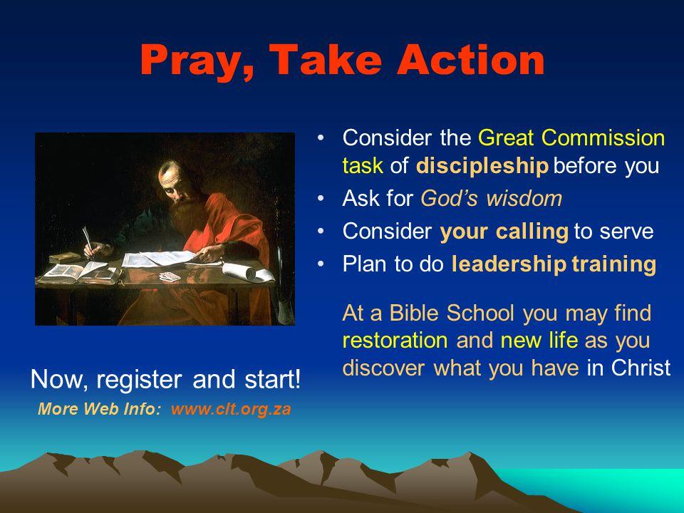 More Web Info: www.clt.org.za