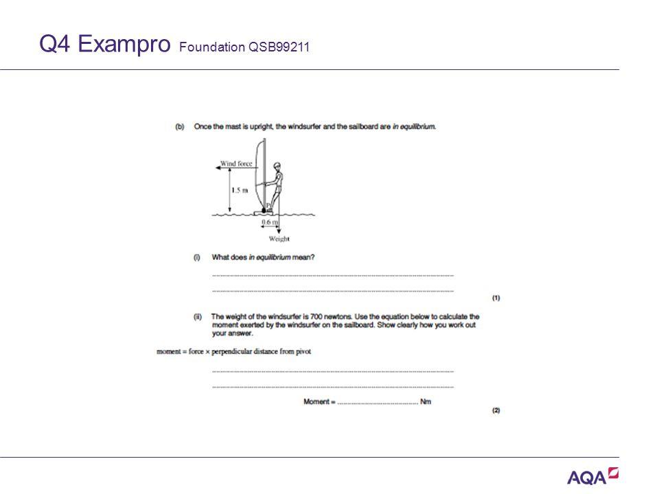 Q4 Exampro Foundation QSB99211