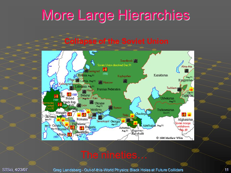 More Large Hierarchies
