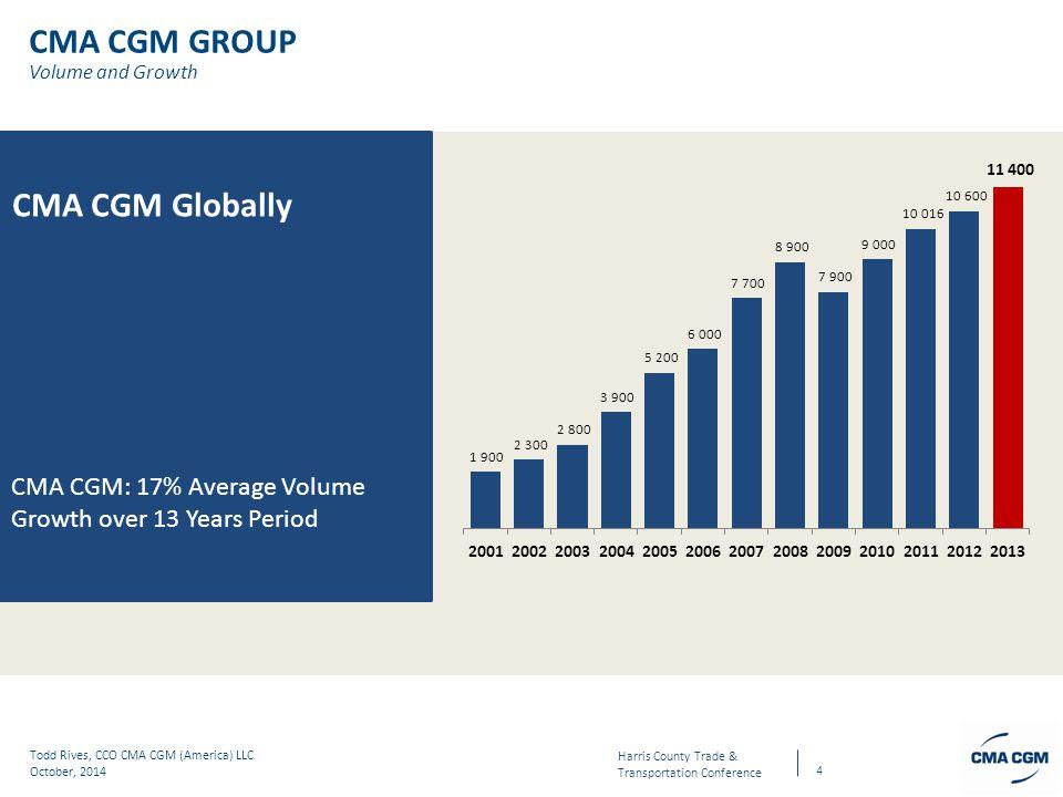 CMA CGM GROUP CMA CGM Globally