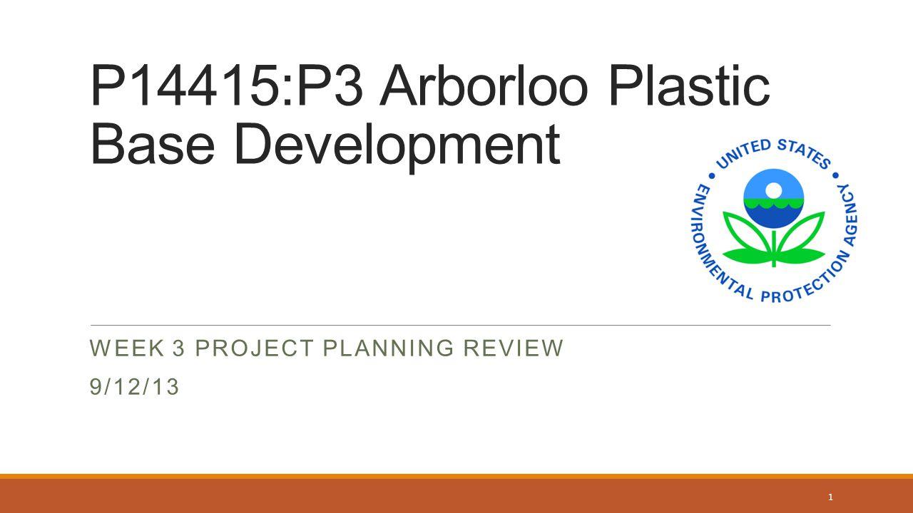 P14415:P3 Arborloo Plastic Base Development