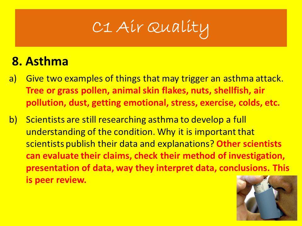 C1 Air Quality 8. Asthma.
