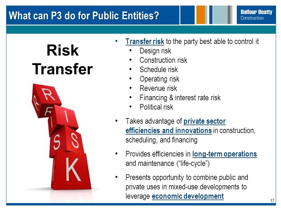 What can P3 do for Public Entities