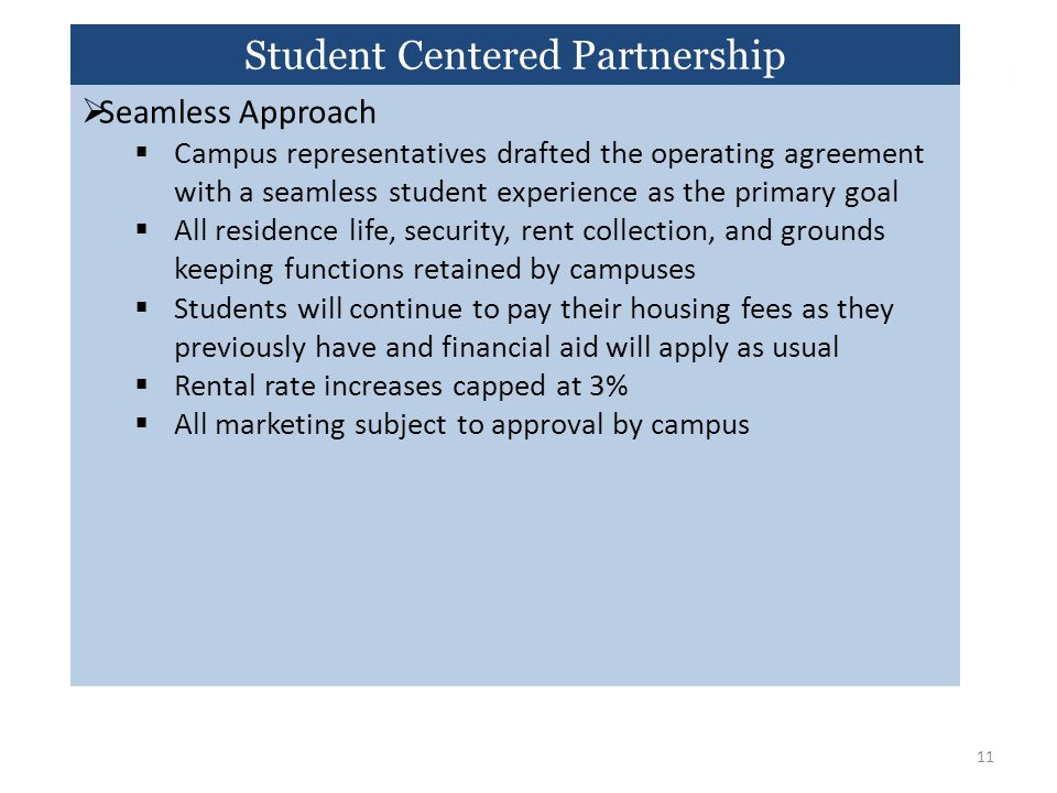 Student Centered Partnership