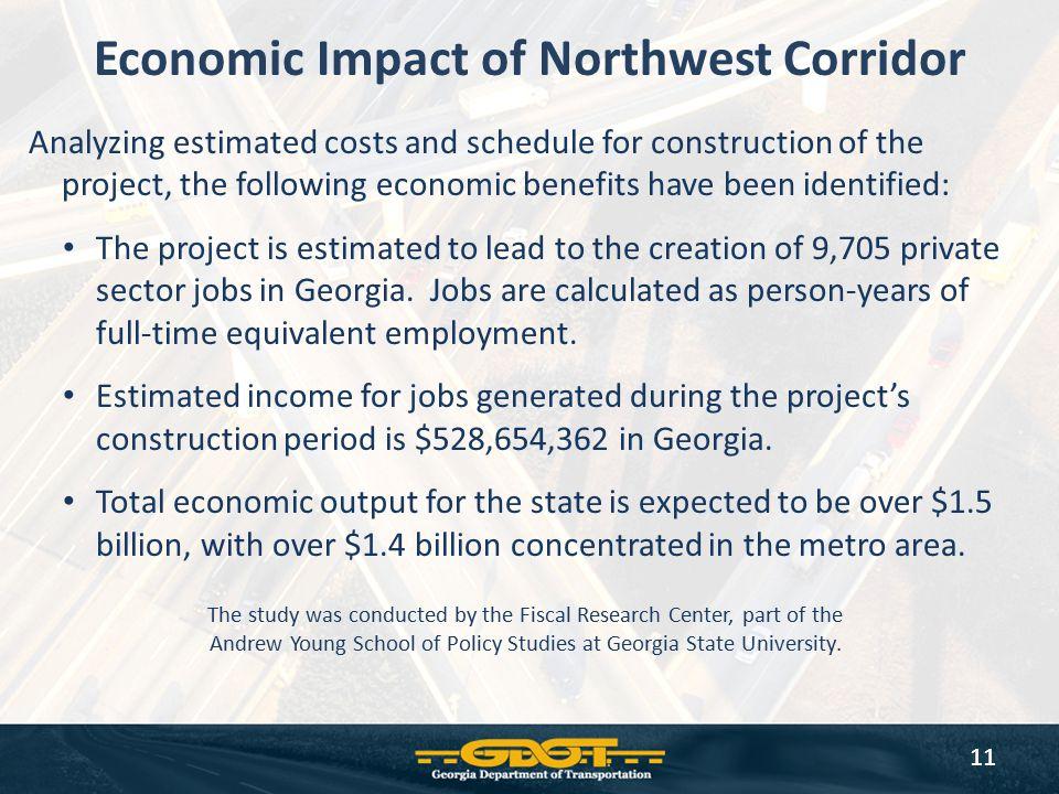 Economic Impact of Northwest Corridor