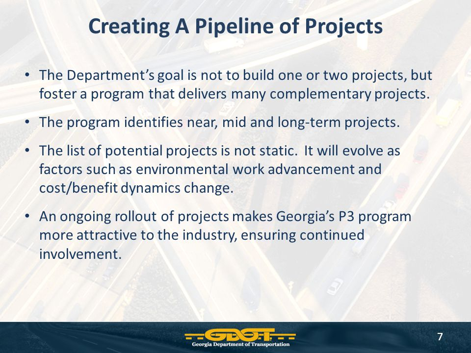 Creating A Pipeline of Projects