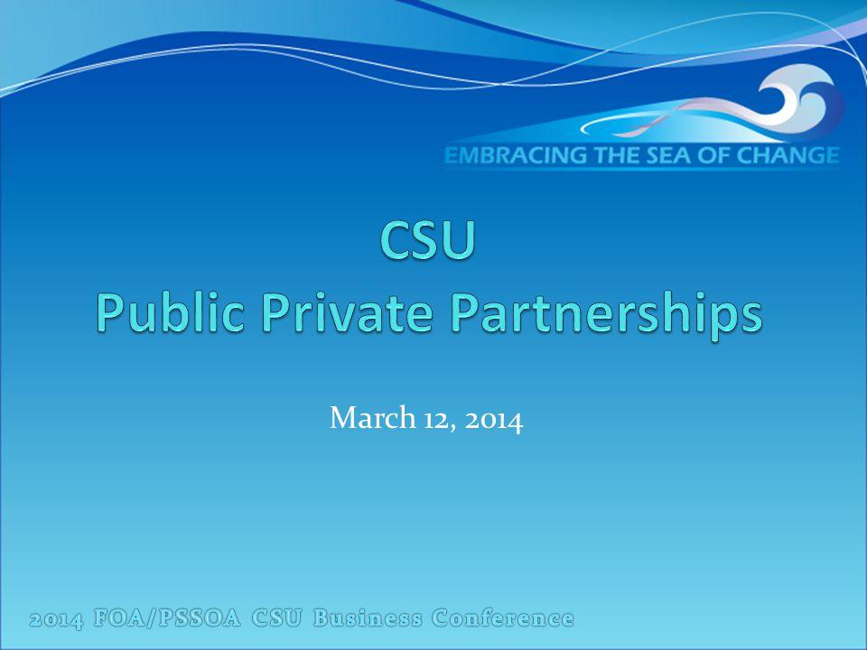 CSU Public Private Partnerships