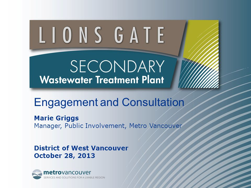 Engagement and Consultation