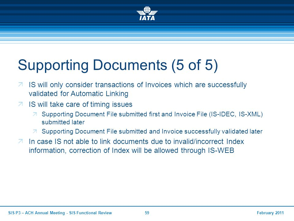 Supporting Documents (5 of 5)