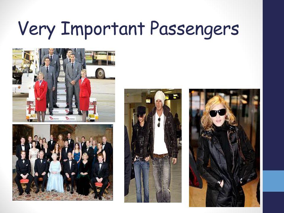Very Important Passengers