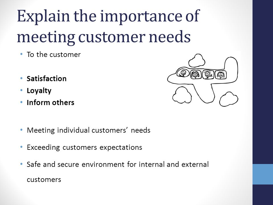 TIPS for internal customer service providers