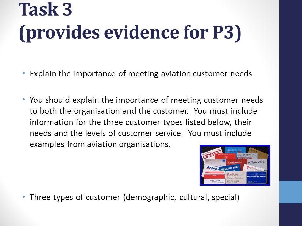 Task 3 (provides evidence for P3)