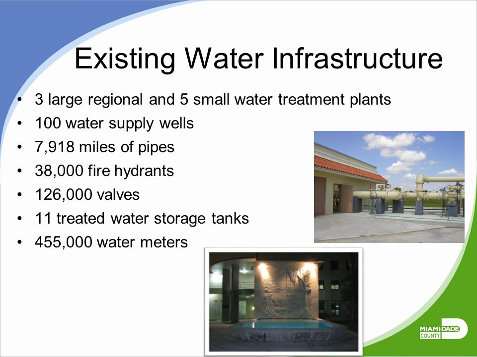 Existing Water Infrastructure