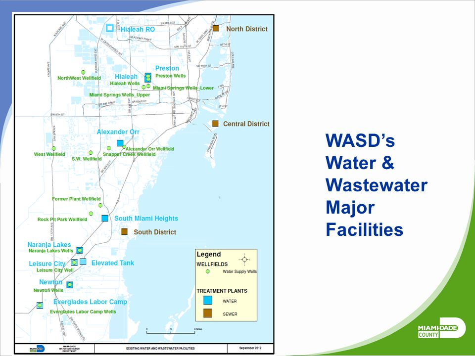 WASD's Water & Wastewater