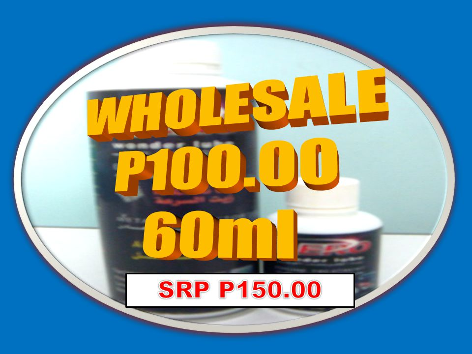 WHOLESALE P100.00 60ml Always believe in your potential. SRP P150.00