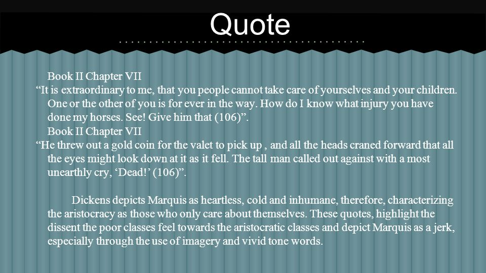 Quote Book II Chapter VII