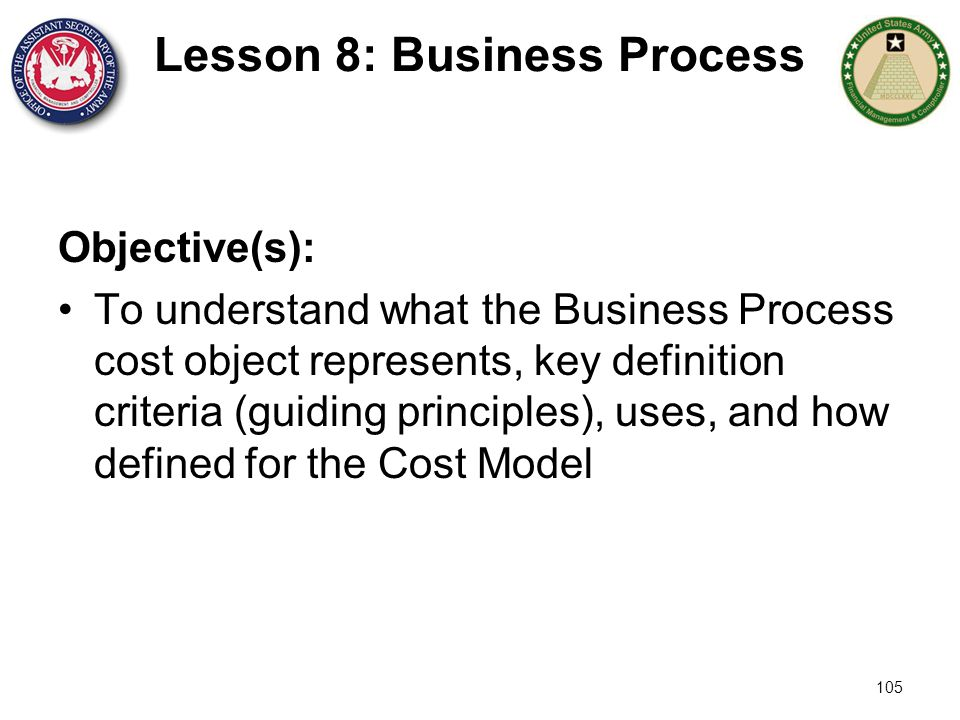 Lesson 8: Business Process