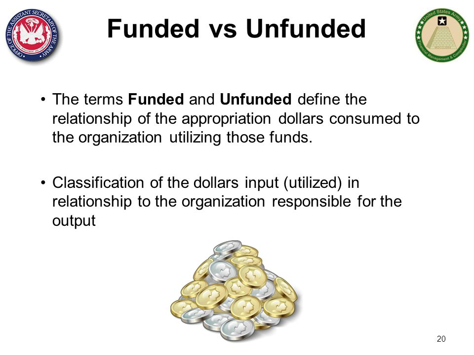 Funded vs Unfunded