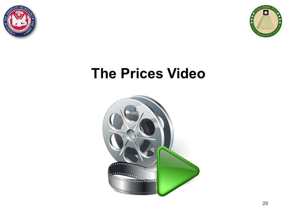 The Prices Video 29