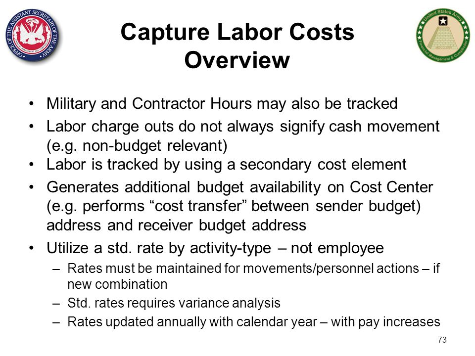 Capture Labor Costs Overview