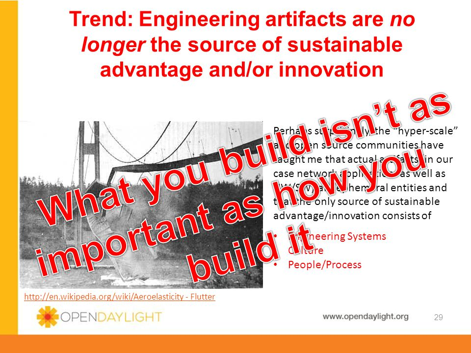 What you build isn't as important as how you build it