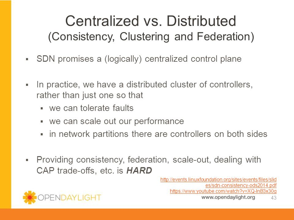 Centralized vs. Distributed (Consistency, Clustering and Federation)