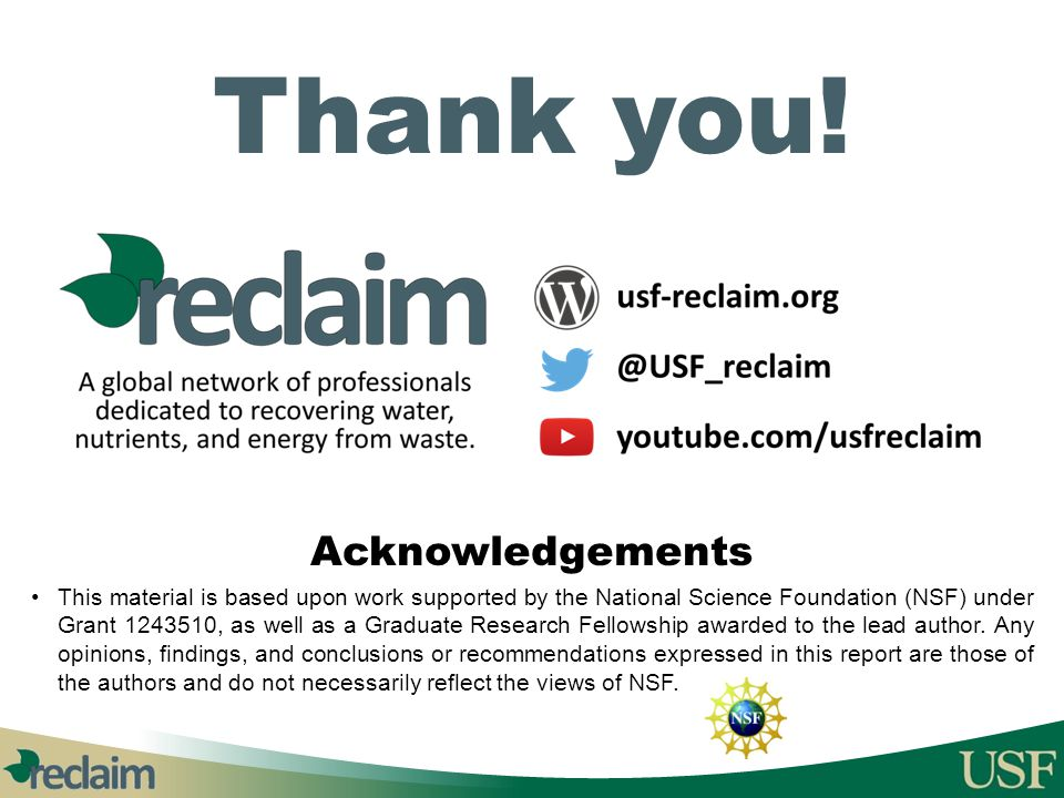 Thank you! Acknowledgements
